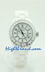 Chanel J12 Replica - Authentic Ceramic Watch - Unisex 16