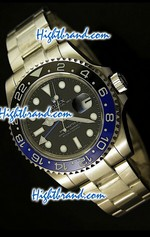 Rolex Replica GMT Masters II Black Blue - Swiss Watch 122