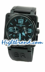 Bell and Ross BR01-94 Carbon Replica Watch 03