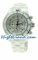 Chanel J12 Authentic Ceramic Mens Watch 22