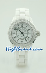 Chanel J12 Authentic Ceramic Watch 2