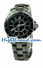 Chanel J12 Authentic Ceramic Automatic Watch - GMT Edition 03