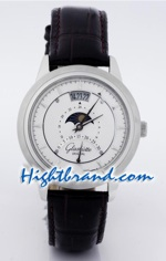 Glashutte Moon Phase Replica Watch 1
