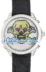 Jacob & Co. The Five Time Zone Skeleton Swarovski Dial Replica Watch 01