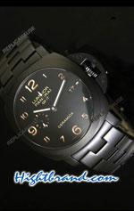 Panerai Luminor GMT Ceramica - PAM441 Swiss Replica Watch 12
