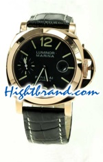 Panerai Luminor 00111 Pink Gold Japanese Movement 02<font color=red>หมดชั่วคราว</font>