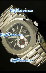 Patek Philippe Nautilus Chronograph Swiss Watch 21<font color=red>หมดชั่วคราว</font>
