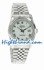 Rolex Replica Datejust Mens Watch - Roman Dial 01
