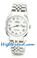 Rolex Replica Datejust Silver Watch 06