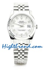 Rolex Replica Datejust Silver Watch 03