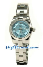 Rolex Replica Datejust Silver Watch Ladies 0819<font color=red>หมดชั่วคราว</font>