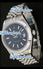 Rolex Replica Datejust II Blue Swiss Watch 08