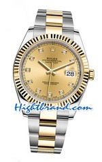Rolex Replica Datejust II Gold Swiss Watch 04