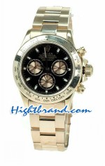 Rolex Daytona Swiss Pink Gold Watch 01