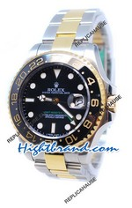 Rolex GMT Masters II Edition Two Tone - Swiss Watch 15