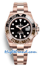 Rolex GMT Masters II Rose Gold Edition 2018 - Swiss Replica Watch 19