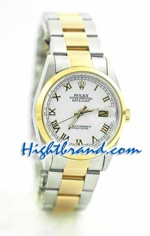 Rolex DateJust Replica Watch Oyester - 16