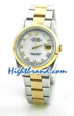 Rolex DateJust Replica Watch Oyester - 17