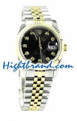 Rolex Replica Datejust Mens Watch - Pink Gold 05