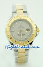 Rolex Replica Yacht Master Two Tone Mens Size 2