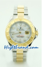 Rolex Replica Yacht Master Two Tone Mens Size 3