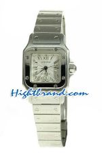 Cartier Santos Swiss Ladies Replica watch 01