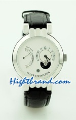 Harry Winston Excenter Timezone Replica Watch 2