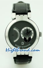 Harry Winston Excenter Timezone Replica Watch 1