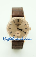 Patek Philippe Calatrava Replica Watch 6