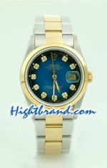 Rolex DateJust Replica Watch Oyester - 4