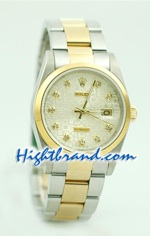 Rolex DateJust Replica Watch Oyester - 2