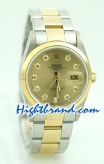 Rolex DateJust Replica Watch Oyester - 5