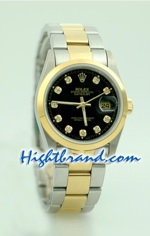 Rolex DateJust Replica Watch Oyester - 9