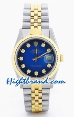 Rolex DateJust Two Tone 27
