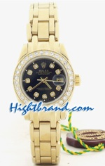 Rolex DateJust Gold Ladies 25