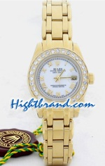 Rolex DateJust Gold Ladies 26