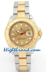 Rolex Replica Yacht Master Two Tone Mens Size 4